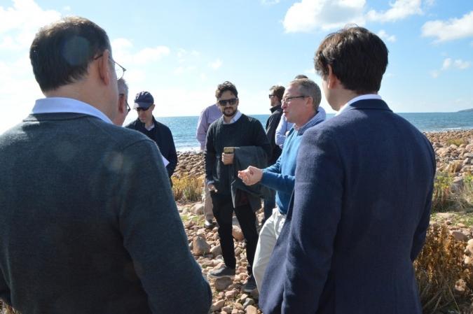 Investors at smith Bay